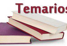 temarios oposiciones de maestros y profesores