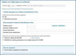 Registro final con CSV.