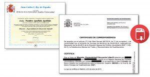 Solicitud PDF Correspondencia MECES.