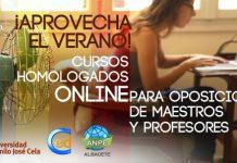 Cursos homologados online para oposiciones de maestros y profesores 2017