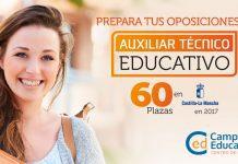 Prepara Oposiciones de Auxiliar Técnico Educativo con Campuseducacion.com