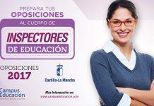 Oposiciones al Cuerpo de Inspectores de Educación en CLM