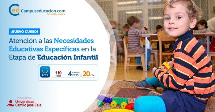 atención a las necesidades educativas específicas en educación infantil