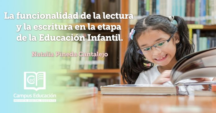 lectura y escritura educación infantil