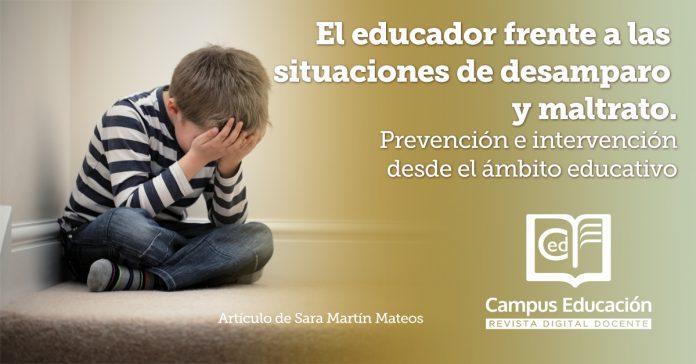 educador desamparo y maltrato