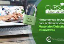 Curso gratuito Herramientas de Autor para la Elaboración de Materiales Didácticos Interactivos