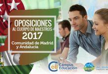 Oposiciones a Maestro para Madrid y Andalucía 2017