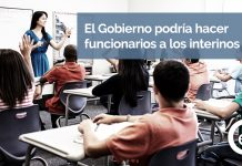 Los docentes interinos podrían llegar a ser funcionarios de carrera