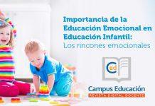 La importancia de la educación emocional en educación infantil. Los rincones emocionales