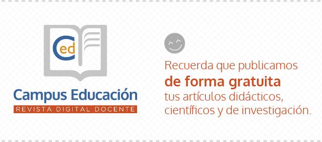 Recuerda que publicamos de forma gratuita tus artículos didácticos, científicos y de investigación