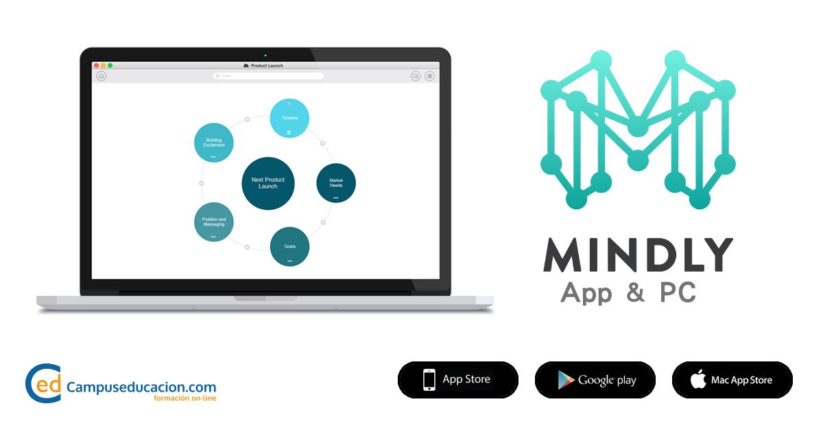 mindly mapas mentales campuseducacion