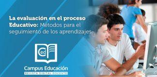 evaluación proceso educativo