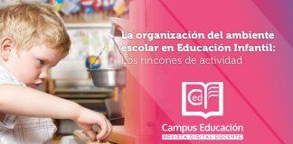rincones educación infantil