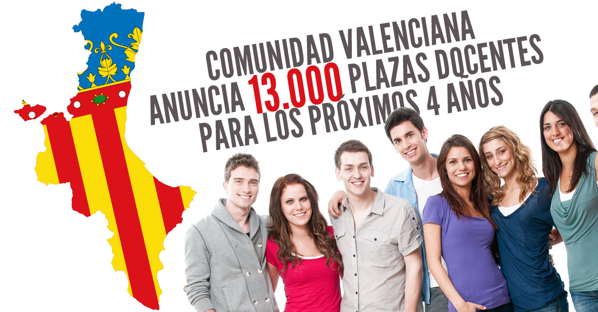 Convocatorias para plazas docentes 2016 for Convocatoria de plazas docentes 2017
