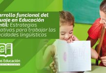 Desarrollo funcional del lenguaje en Educación Infantil