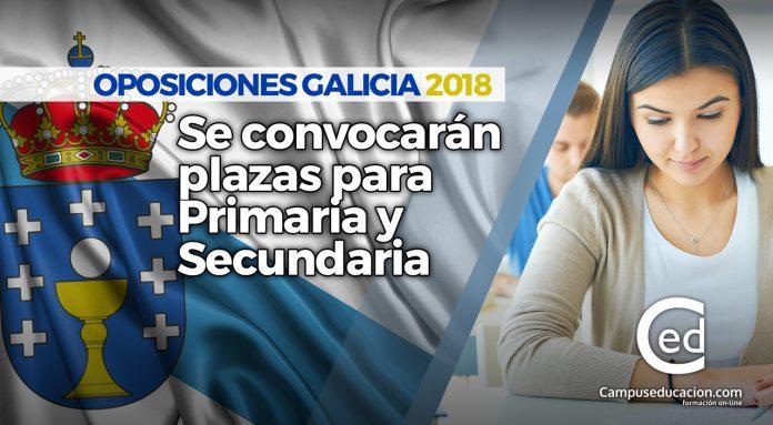 OPOSICIONES GALICIA 2018