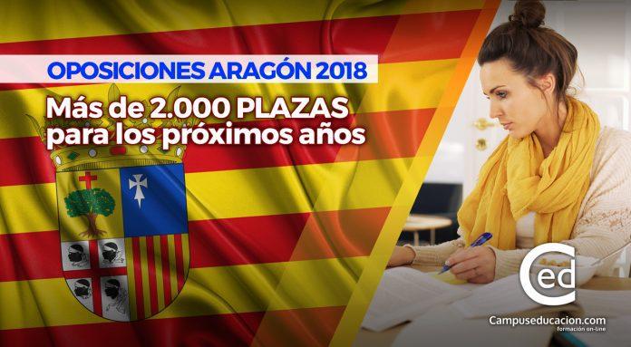 plazas oposiciones aragón