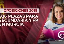 oposiciones 2018 murcia
