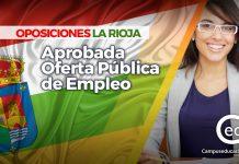 oposiciones la rioja 2018 oferta pública empleo