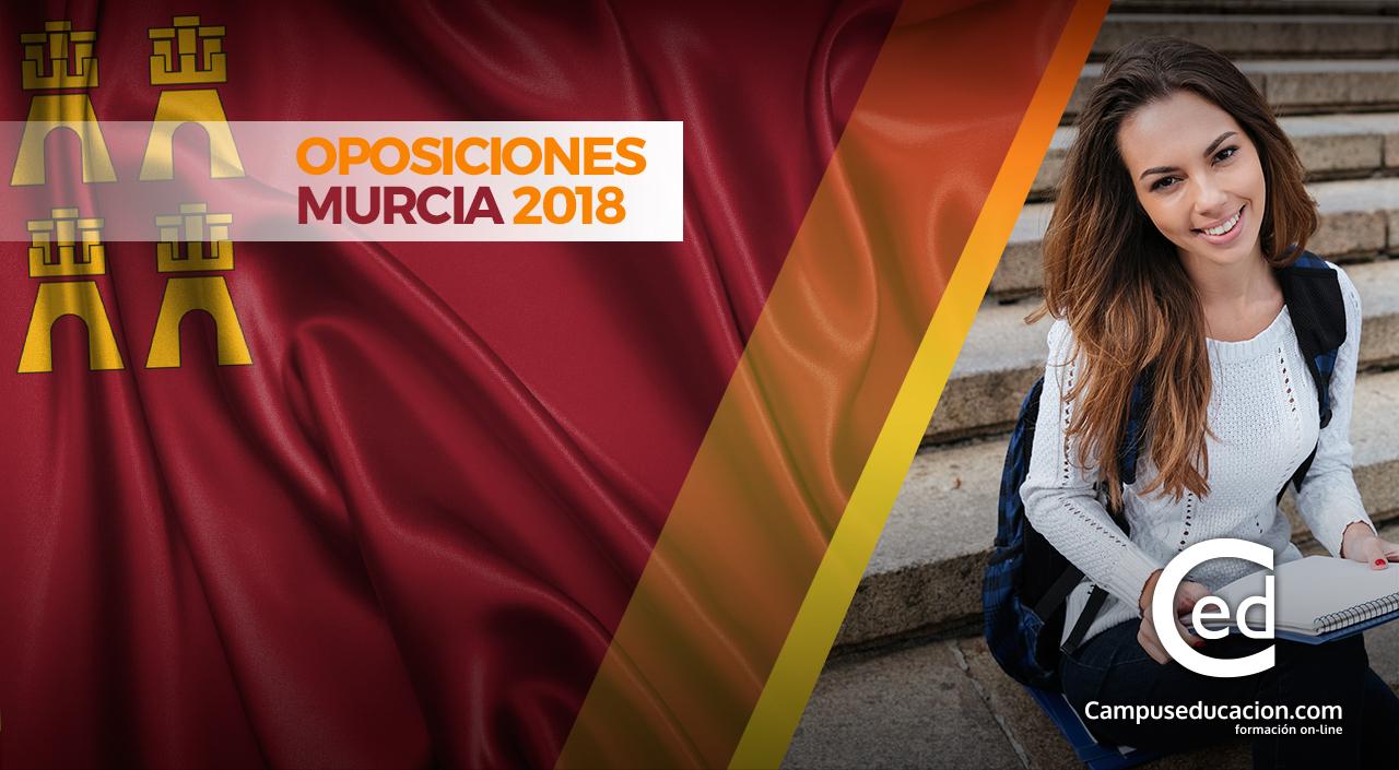 Oposiciones Murcia 2018: Oferta Pública de Empleo de 6.199