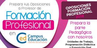 formación profesional oposiciones