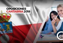 oposiciones cantabria plazas