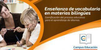 Enseñanza de vocabulario en materias bilingües