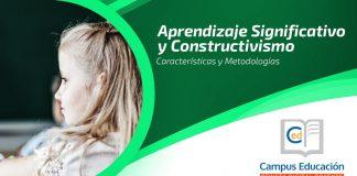 Aprendizaje significativo y constructivismo