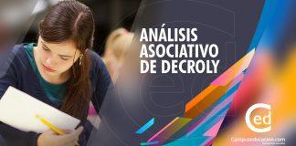 Análisis Asociativo de Decroly