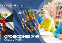 oposiciones ceuta melilla 2018 convocatorias