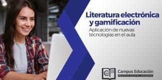 Literatura electrónica y gamificación