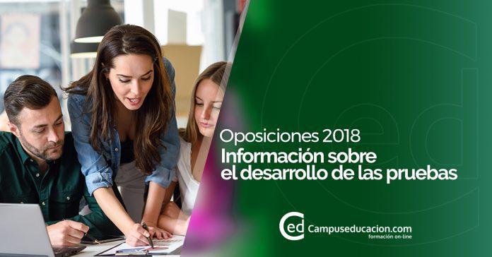 oposiciones docentes 2018