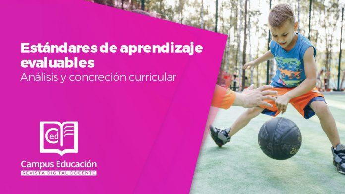 estándares de aprendizaje