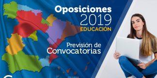 Oposiciones Educación 2019