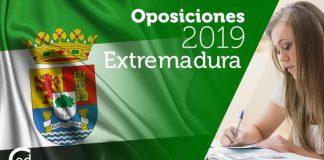 Oposiciones Extremadura 2019