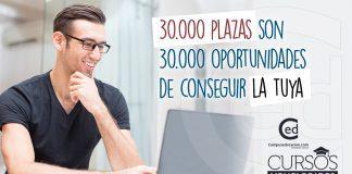 30.000 plazas