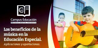 Los Beneficios de la música en Educación Especial