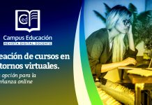 Creación de cursos en entornos virtuales