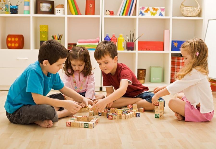 metodologías lúdicas niños jugando