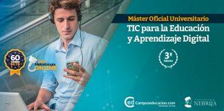 máster oficial TIC en educación