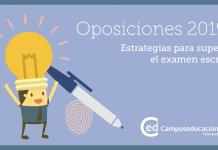 Examen escrito oposiciones 2019