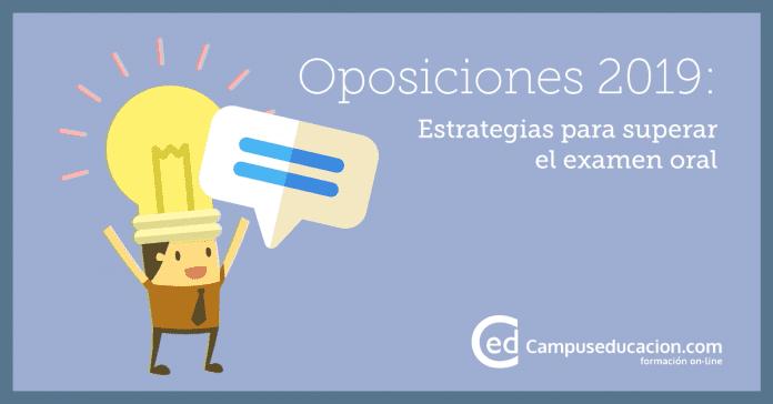 examen eoral oposiciones 2019