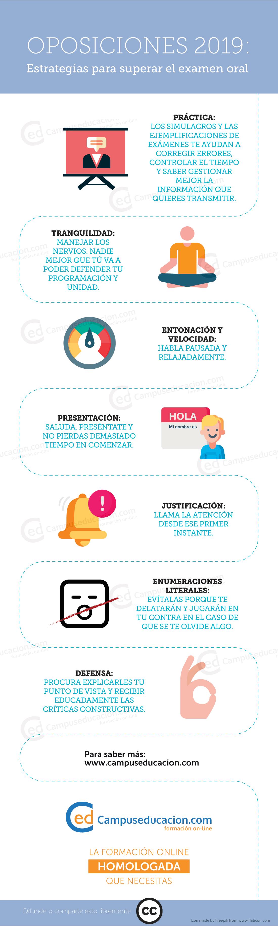 oposiciones 2019 estrategias examen oral