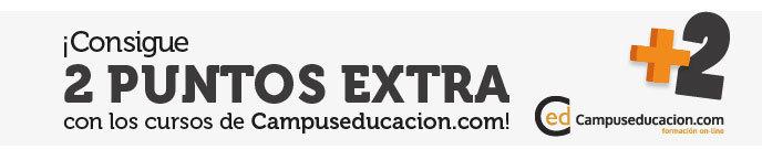 2 puntos para baremo con Campuseducacion.com