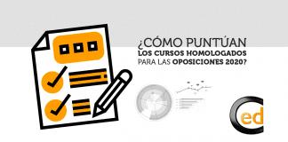 cursos homologados para oposiciones 2020