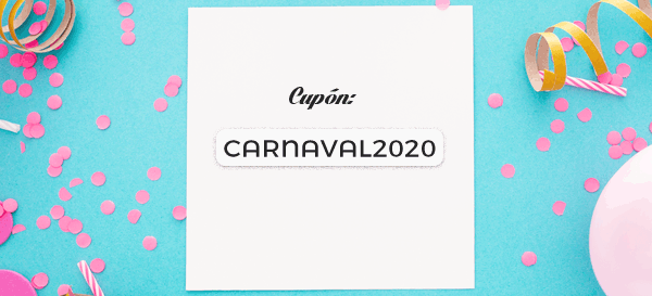 cupón carnaval todos los cursos