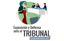 exposición y defensa