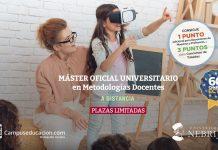 nuevo máster en metodologías docentes