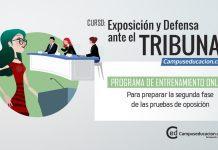 Exposición y Defensa ante el Tribunal