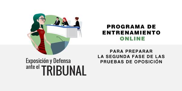 Cursos de Exposición y Defensa